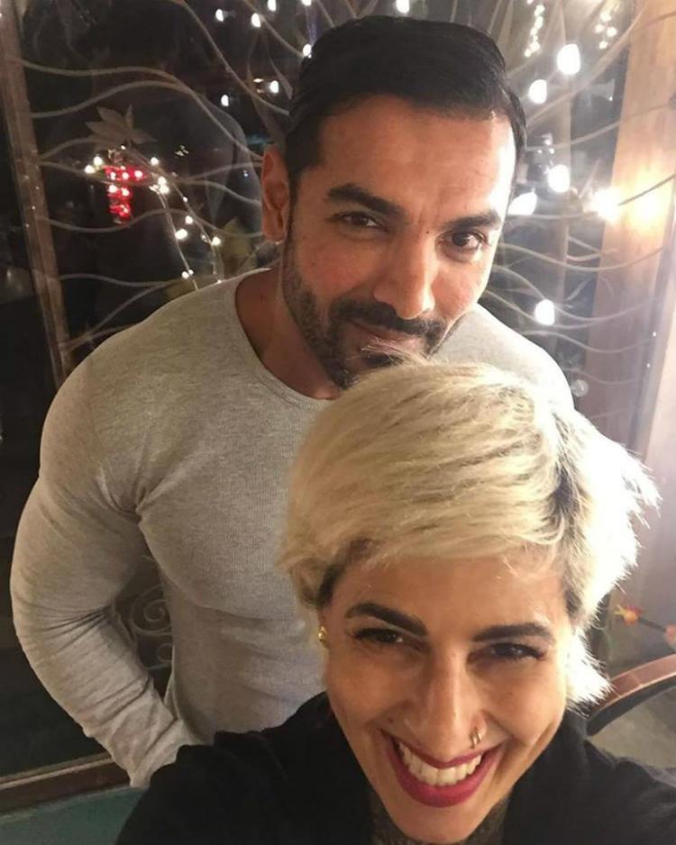 Sapna Bhavnani with John Abraham