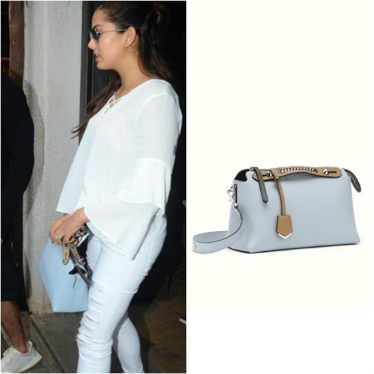 Mira Rajput carrying a Fendi bag