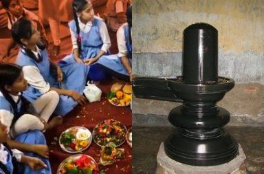 Muslim girls asked to make shivlings