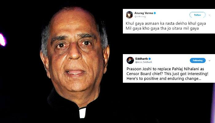 Pahlaj Nihalani, Pahlaj Nihalani sacked, Pahlaj Nihalani sacked Twitter reactions, inuth.com