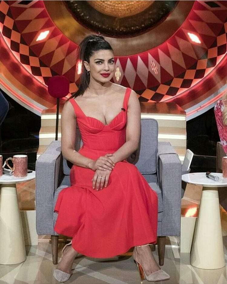 Priyanka Chopra at The Gong Show