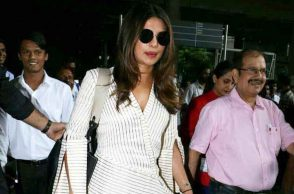 Priyanka Chopra spotted at airport photo