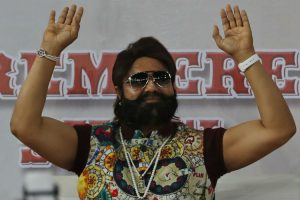 File photo of Gurmeet Singh Ram Rahim Insan