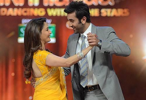 Ranbir Kapoor and Madhuri Ddixit