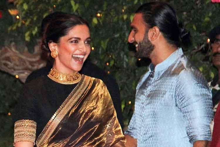 Deepika Padukone, Ranveer Singh at Ambani's Ganesh Chaturthi party