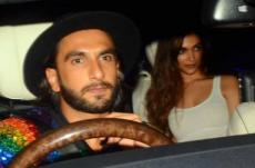 Deepika Padukone, Ranveer Singh party together