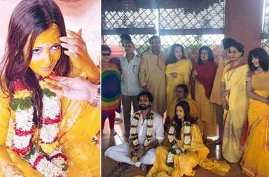 Riya Sen wedding photo
