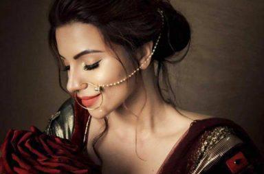Shama Sikander bridal photoshoot