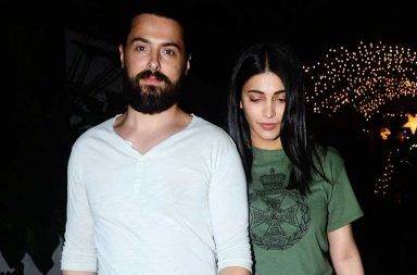 Shruti Haasan spotted with rumoured boyfriend photo
