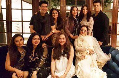 Inside pics from Sridevi's birthday party