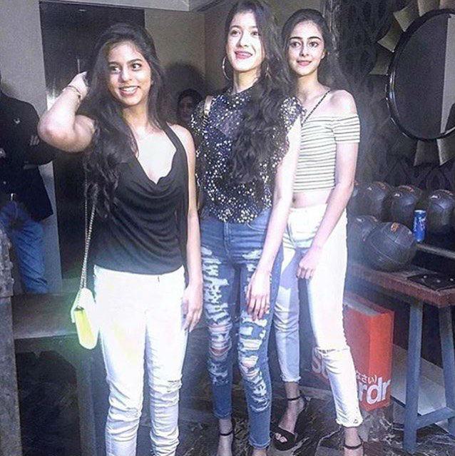 Suhana Khan at a party