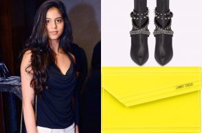 Suhana Khan at a party
