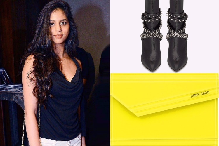 The cost of Suhana Khan's sexy boots and bag is more than your yearly collegefees