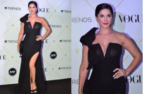 Sunny Leone at the Vogue Beauty Awards 2017