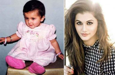 Taapsee Pannu childhood photo