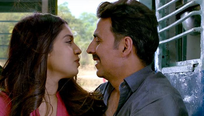Akshay Kumar and Bhumi Pednekar in Toilet Ek Prem Katha, inuth.com