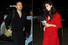 Disha Patani and Tiger Shroff spotted together