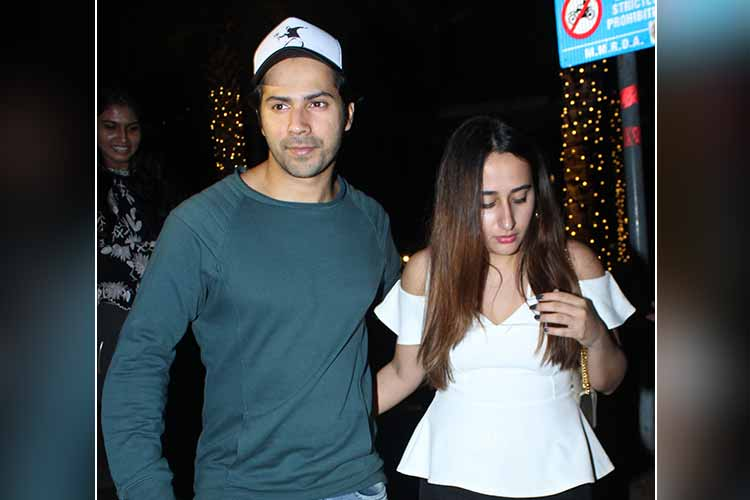 Varun Dhawan, Natasha Dalal spotted on a dinner date photo