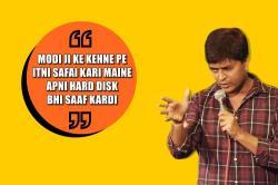 Standup comic Vipul Goyal on 'why India loves PM Modi', video viral - Watch