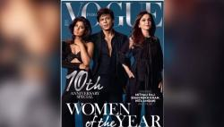 Beauty In Black! Mithali Raj stuns on a magazine cover, overshadows Shah Rukh Khan. See Pics