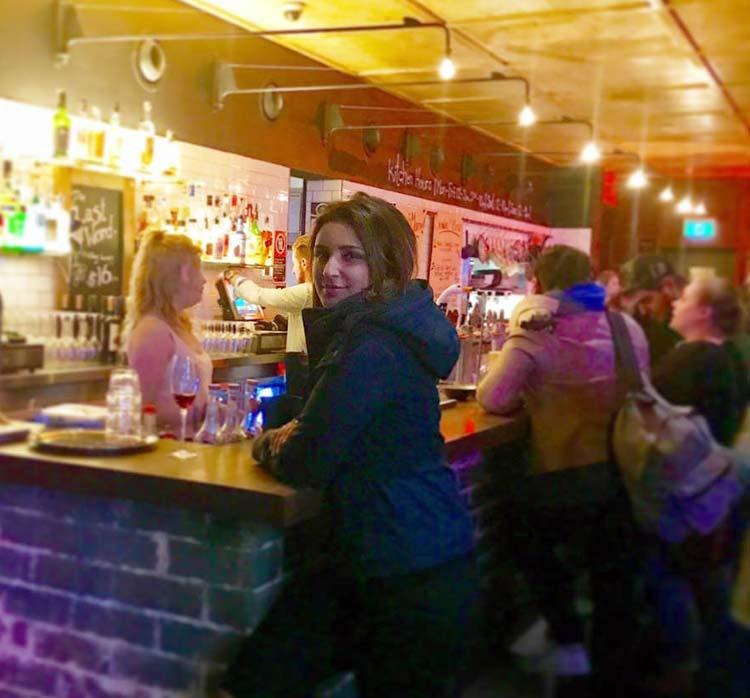 Parineeti Chopra enjoying the Australian nightlife