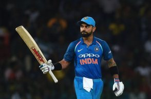 India beat Sri Lanka, IND vs SL 5th ODI, Virat Kohli 1000 ODI runs, India vs Sri Lanka, ODI series whitewash, MS Dhoni 100th stumping, Virat Kohli equals Sachin Tendulkar