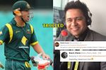 Aakash Chopra tries to mock David Warner over his Indian twin, gets TROLLED instead!
