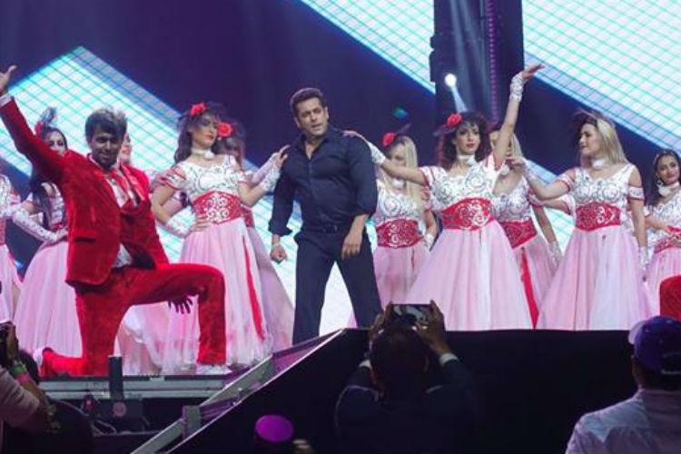 Salman Khan, Dabangg Tour