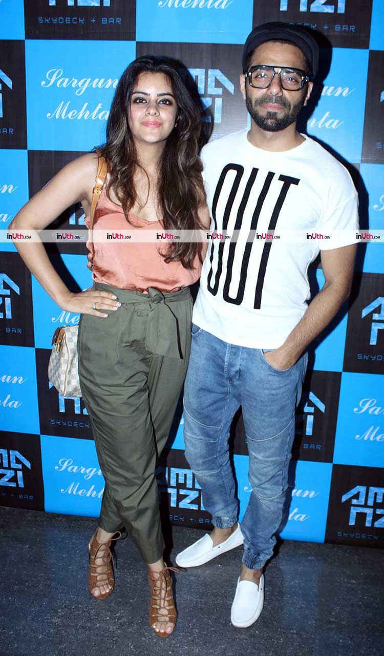 Aparshakti Khurrana at Sargun Mehta's birthday bash