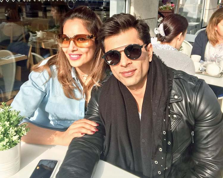 Bipasha Basu and Karan Singh Grover are having a lovely time in England