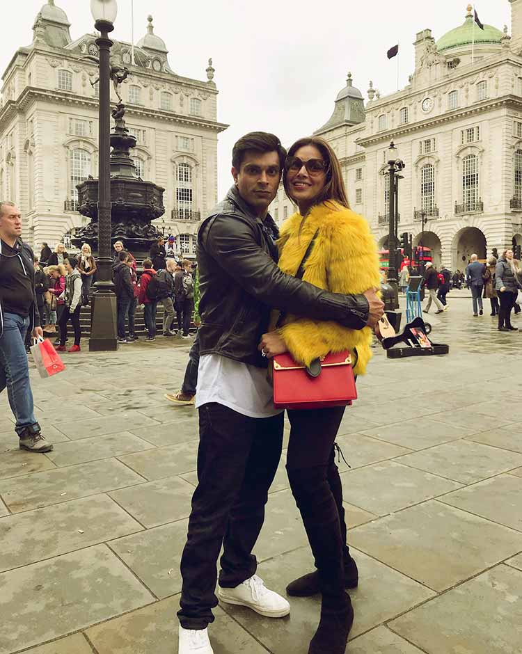 Bipasha Basu and Karan Singh Grover's London romance