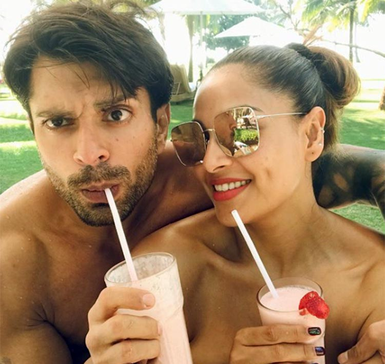 Bipasha Basu chilling in Goa with Karan Singh Grover