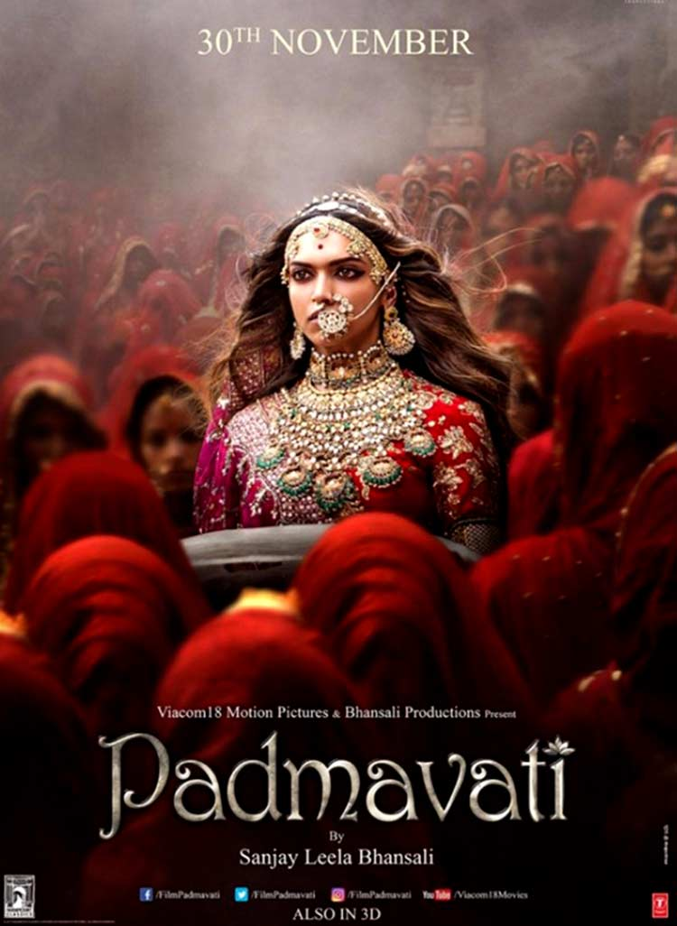 Deepika Padukone will bewitch you with her new Padmavati poster