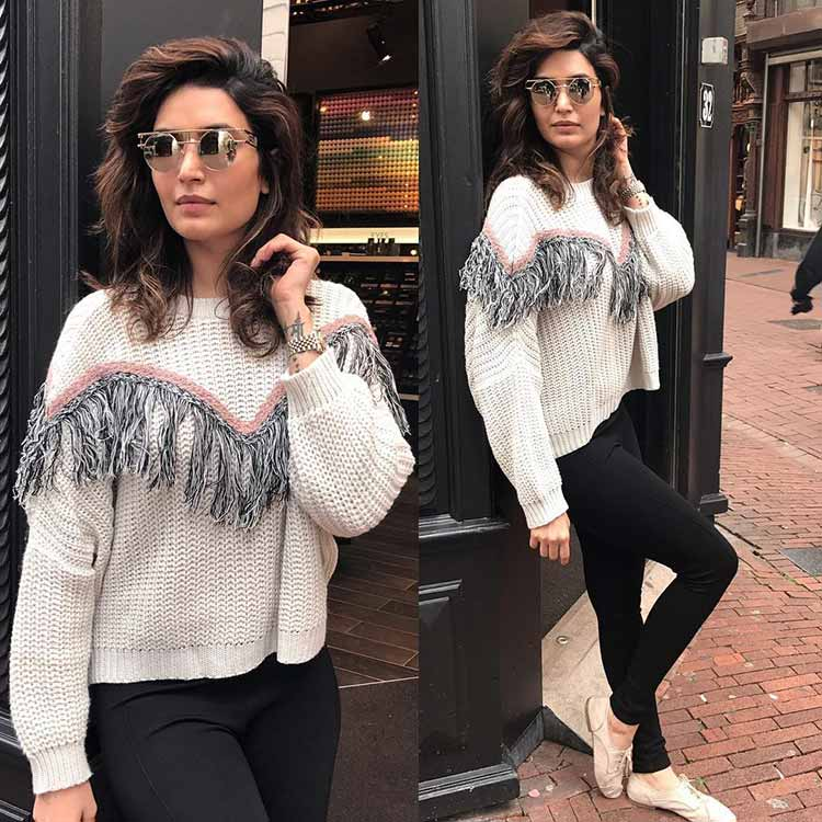 Karishma Tanna is taking Amsterdam by storm