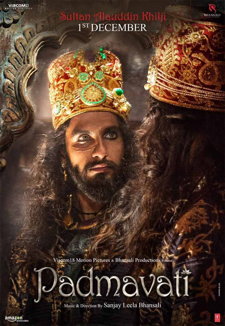 Ranveer Singh's first look from Padmavati is murderous