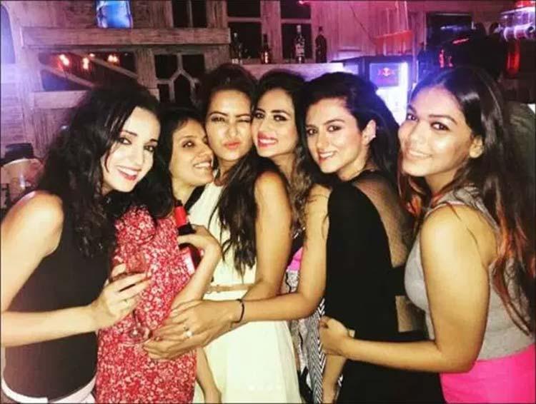 Sargun Mehta had a crazy birthday celebration