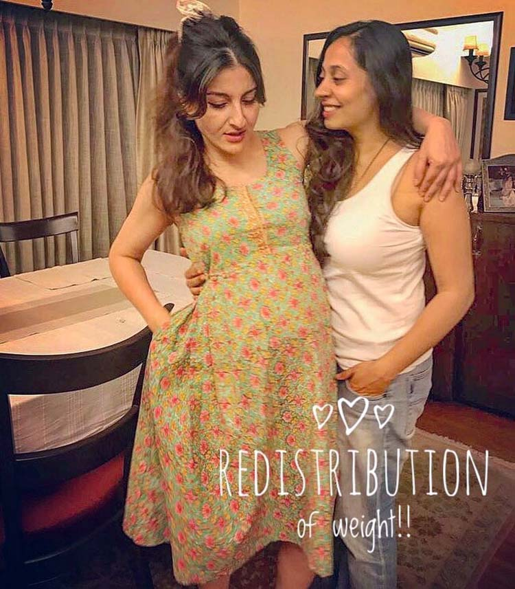 Soha Ali Khan's pregnancy style was easy and classy