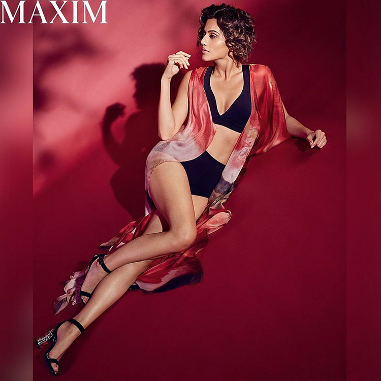 Taapsee Pannu is sizzling in her bikini avatar on the Maxim cover