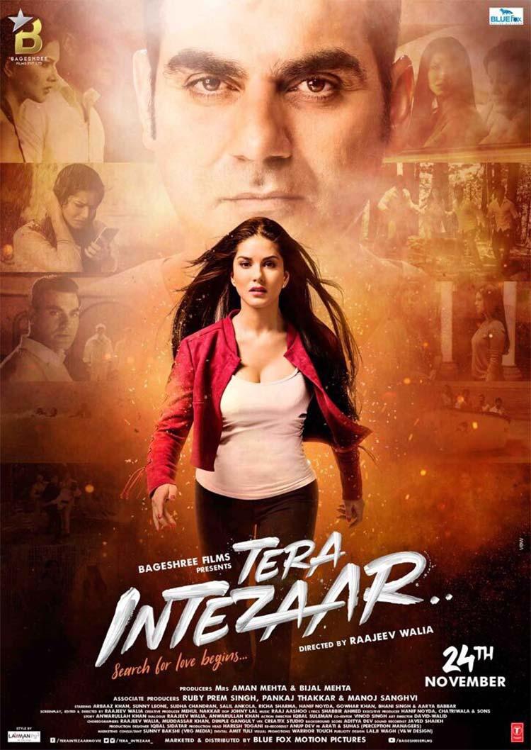 The first poster of Tera Intezaar looks intriguing