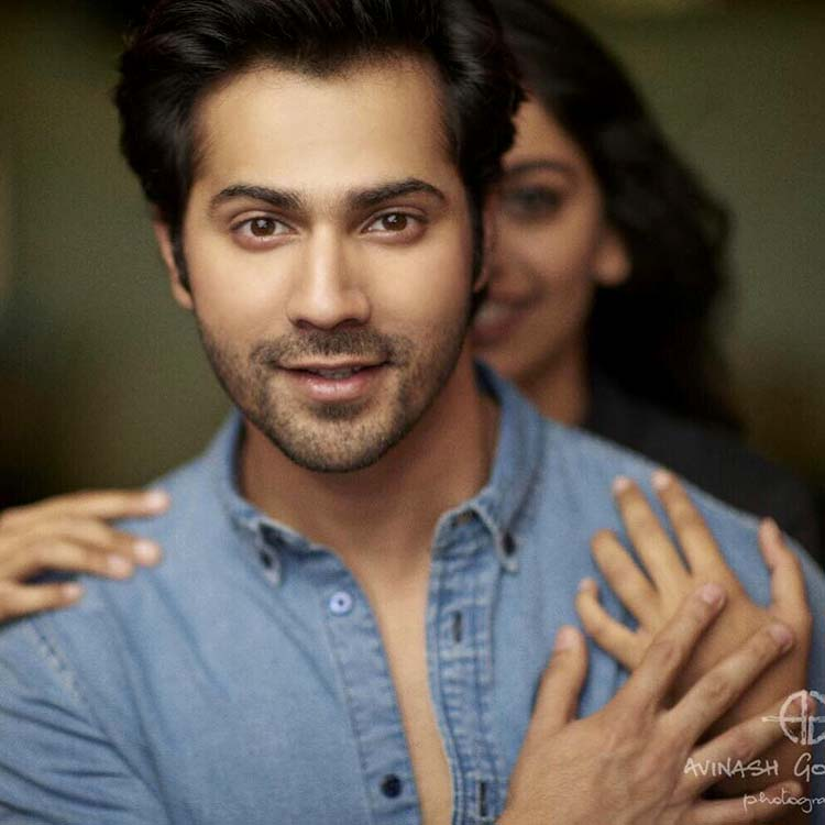 Varun Dhawan shares a glimpse of his 'October girl'