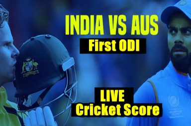 India vs Australia Live