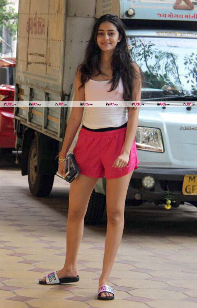 Ananya Pandey looked uber pretty during her Sunday outing