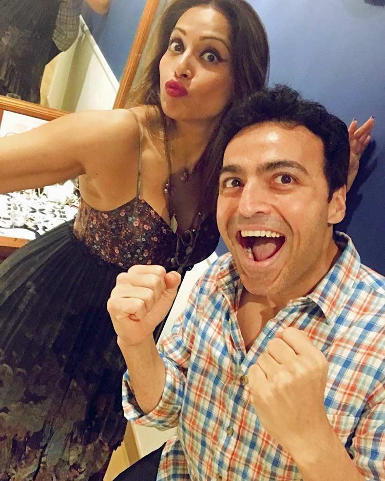 Bipasha Basu and Ayaz Khan are super excited for Karan Singh Grover's birthday