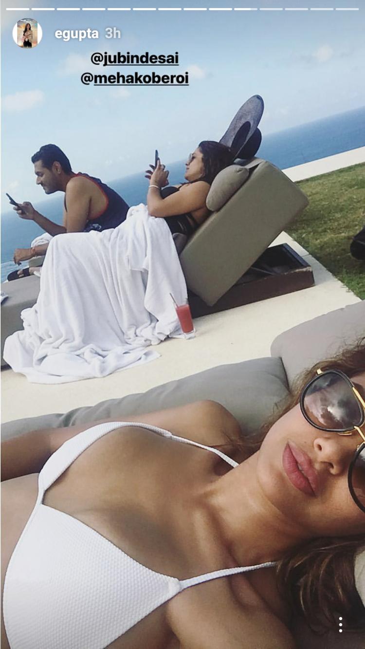 Esha Gupta enjoying her exotic Indonesian vacation
