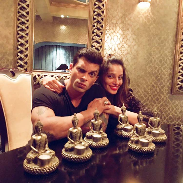 Karan Singh Grover and Bipasha Basu's cozy time in England