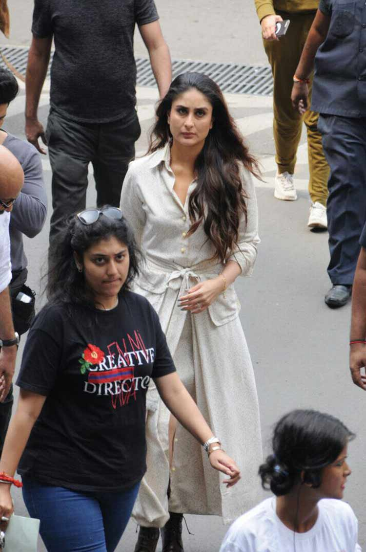 Kareena Kapoor's pic from the sets of Veere Di Wedding