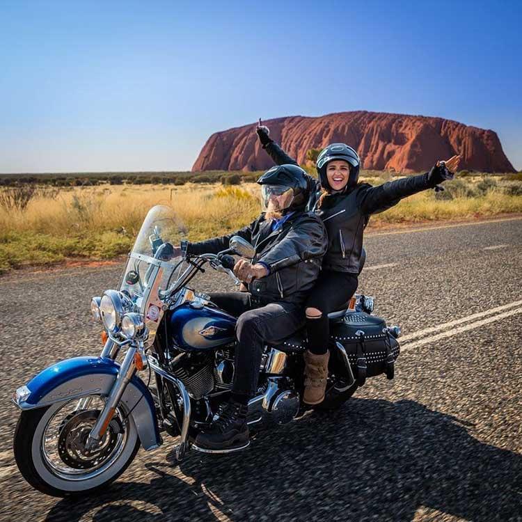 Parineeti Chopra enjoys a Harley ride in Australia