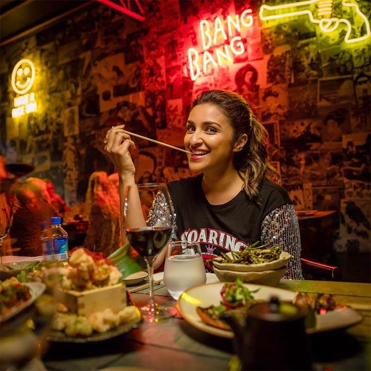 Parineeti Chopra finds tasty Japanese in Australia
