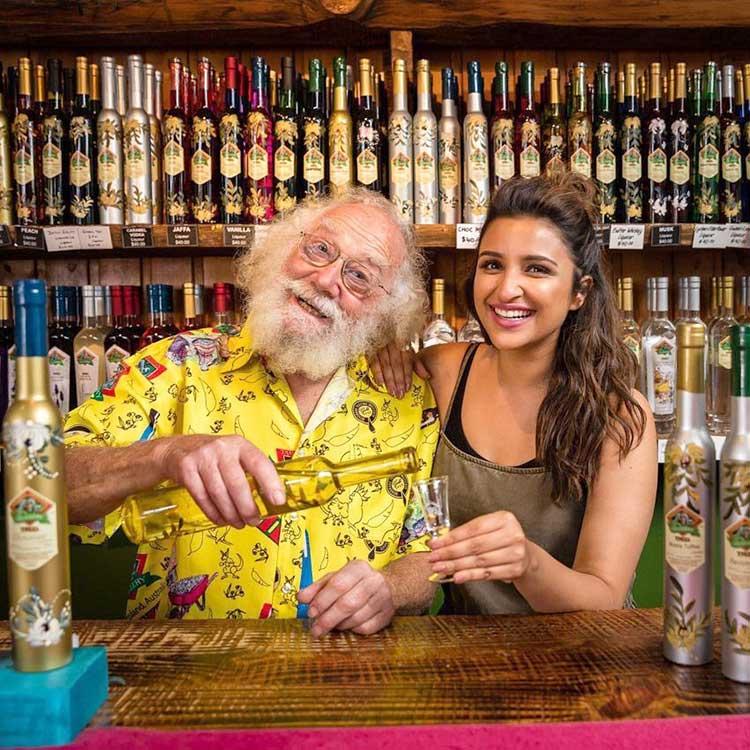 Parineeti Chopra on exquisite liqueur shopping in Queensland