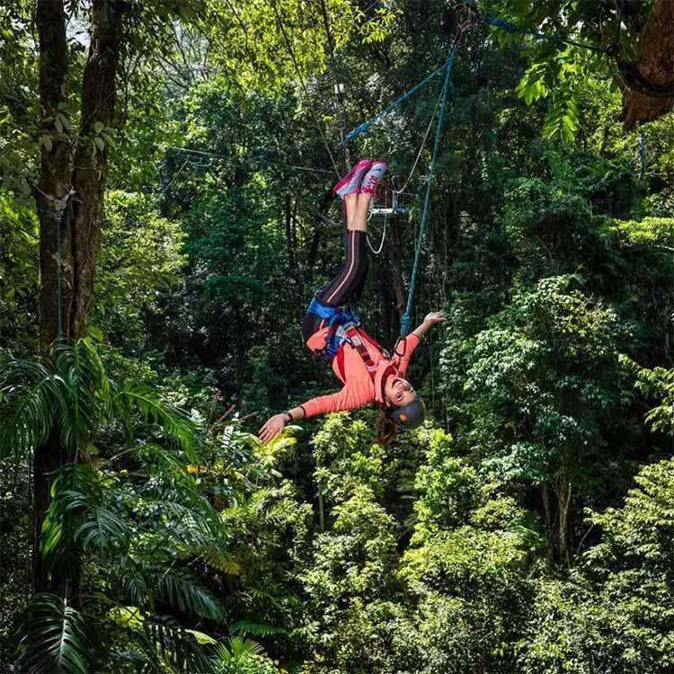 Parineeti Chopra trying the adventure sports in Australia